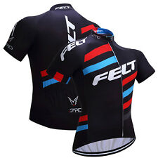 Outdoor Sports Men's Cycling Jersey Short Sleeves Bike Bicycle MTB Shirts Tops