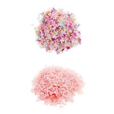1000Pcs Colorful Flat Back Embellishment Cute Resin Bow Beads DIY Craft Hairpins