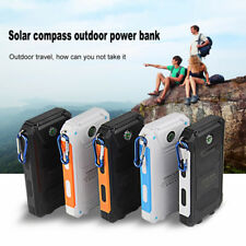 AU Solar Power Bank 50000mAh External Backup 2LED USB Battery Charger For iPhone