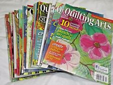 Quilting Arts Magazine Issues 36-57 December 2009-July 2012