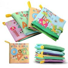 Intelligence Development Cognize Cloth Book Kids Baby Learning Educational Toy