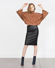 CLASSIC EVENING DAY TIME PARTY LEATHER SKIRT REAL LEATHER WOMEN LEATHER SKIRT