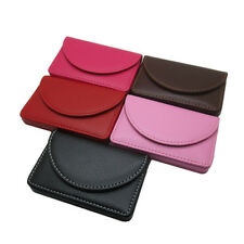 New Pocket PU Leather Business ID Credit Card Holder Case Wallet ff