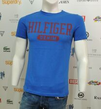 NWT Tommy Hilfiger Denim Mens T-Shirt Short Sleeve Blue Basic 1957898195