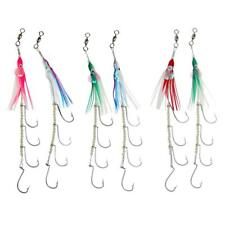 Fishing Lures 4 Hooks Baits Luminous Lures Fishing Tackle Bright Color