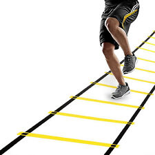 12 Rungs Speed Agility Training Ladder For Improving Speed, Fitness Leg Strength