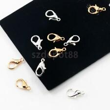 50 Pieces Lobster Swivel Clasps Clips Bag Key Ring Hook Findings Keychain