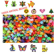 1000PCS 5mm Hama Perler Beads Christmas Gift Kids Craft Great Fun For Kid LoT