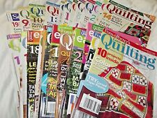 Fons & Porters Love Of Quilting Magazine May/June 2010 - Nov/Dec 2015