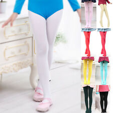 Baby Girl Kids Hosiery Pantyhose Ballet Dance Stocking Footed Leg Socks Tights