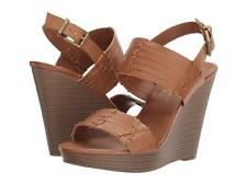 Jessica Simpson Jayleesa Wedge Sandal Burnt Umber Brown Platform Comfrtable shoe