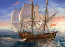 Best gift Ship Sailing Oil painting Art wall Picture HD Printed on canvas ship02