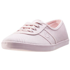 Fred Perry Aubrey Womens Trainers Blush Pink New Shoes
