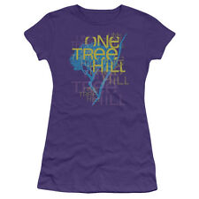 "One Tree Hill ""Title"" Girl's Junior Babydoll Tee or Sleeveless Tank"