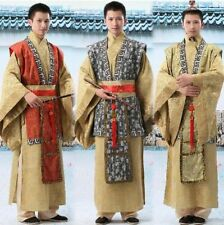 Hot Chinese 2 Color Man Emperor Prince Custom Show Suit Clothing Robe COSPLAY