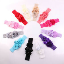 New Lace Baby Headband Chic Flower Princess Girls Headband Hair Accessories abus