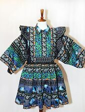 KENZO x H&M Stunning RUNWAY Patterned Dress Limited Edition Sz S,M SOLD OUT, NWT