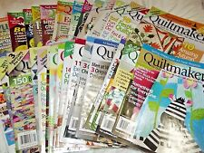 Quiltmaker Magazine Issues 120-168 March 2008 - March 2016