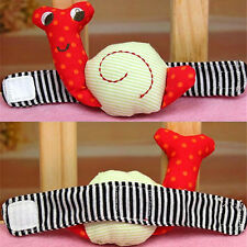 Snails caterpillar Baby Wrist Toys Infant rattle   Rattle Hand Rattles Toys Hot