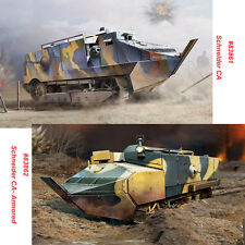HobbyBoss 83861 83862 1/35 French Schneider CA/Armored Assembly Tank Model Kit