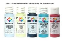 Ceramcoat Gleams Acrylic Paint 2oz Select Colors