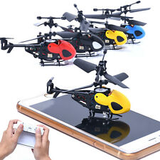 Mini Metal Rc Helicopter Radio Remote Control Aircraft  Micro 2 Channel Drone