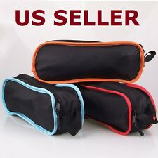 Portable Chair Folding Seat Stool Fishing Camping Hiking Garden Beach +Carry Bag