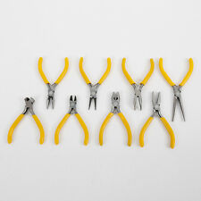 8pcs Long Flat Needle Sharp Nose Precision Pliers Hand Tools for Jewelry Making