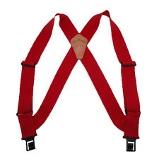 New Perry Suspenders Men's Elastic Outback Side Clip Trucker Suspenders