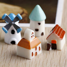 Hot Sale Mini Windmill House Action Figure Gifts Doll Figurines Toys DIY Decor