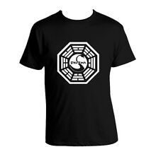 Lost Dharma Initiative T-shirt 100% Cotton LOST unisex T-shirt Dharma New Tee