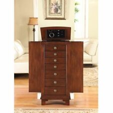 Cayman 6 Drawer Locking Jewelry Armoire By Nathan Direct