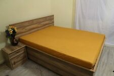 """1000 TC Egyptian Cotton UpTo 30""""Deep Pocket Fitted Sheet All Size Gold Solid"""