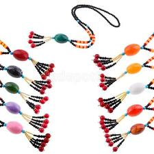Glass Beads Pendant Ethnic Long Necklace Sweater Chain Women Fashion Jewelry