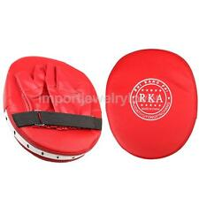 Boxing Target MMA Focus Punch Pad Mitts Training Glove Karate Thai Kick Muay