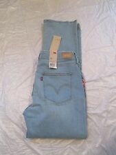 Levi's 525 Jean Straight Leg Perfect Waist Mid Rise Color Light Denim 155640054