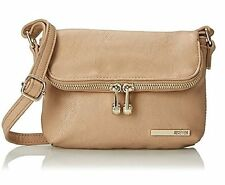 NEW KENNETH COLE REACTION WOMENS WOOSTER STREET FOLD OVER MINI CROSS-BODY BAG