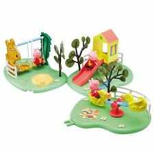 Peppa Pig Toy Outdoor Playground Fun Slide, See-Saw OR Swing NEW TOY