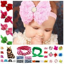 Baby Infant Girls Todler Flower Headband Headwear Birthday Party Hair Accessory