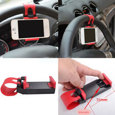 Car Steering Wheel Sticky Mount Holder Stand For Universal Mobile Cell Phone Hot