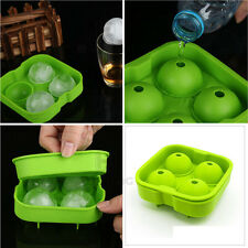 Whiskey Silicon Ice Freeze Cube Ball Maker Mold Sphere Mould Drink Party Tray