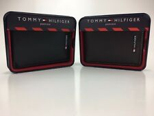 NEW Tommy Hilfiger Men's Leather Passcase Bifold Billfold Wallet