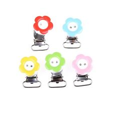Kids/Baby Pacifier Holder Clip Infant High Quality Metal Round Pacifier Clip uuy