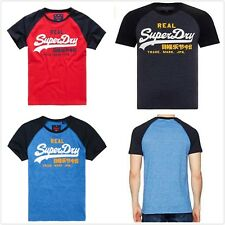 Superdry Men's Vintage Logo Tee T-shirt  S/Sleeve Tops Tee Casual Size XS-2XL