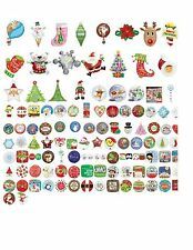 Assorted Christmas foil balloons Santa Tree Stocking Snowman Penguin Snowflake