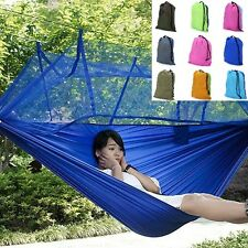 Hammock Mosquito Net Camping Outdoor Bed Hanging Tent Portable Travel Double New