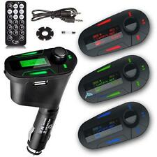 1/3Color Car Kit MP3 Player Wireless FM Transmitter Modulator USB SD MMC LCD TRS