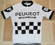 Vintage Peugeot Cycling Jersey