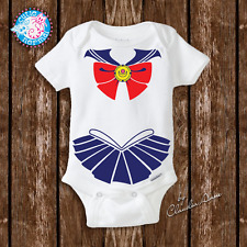 Baby Sailor Moon Onesies Costume Newborn Baby Girl Gifts Clothes Geeky Baby Gift