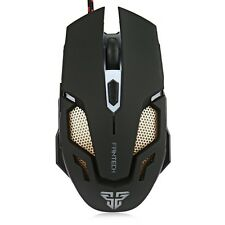 Adjustable 2400DPI Optical LED USB Wired Game Gaming Gamer Laptop Working Mouse